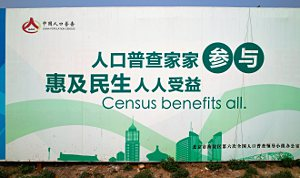 Plakat - Zensus 2010 Census benefits all