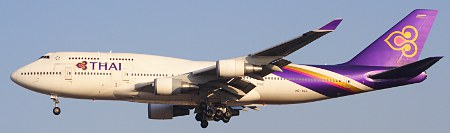 B744 Thai Airways