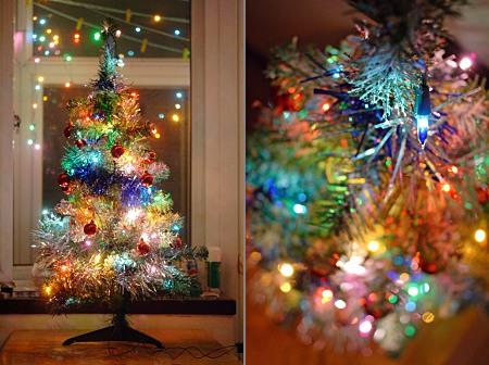 Kitschiger weihnachtsbaum